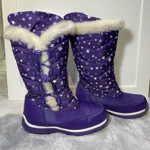 Land's End Girl's Snow Boots Size 3